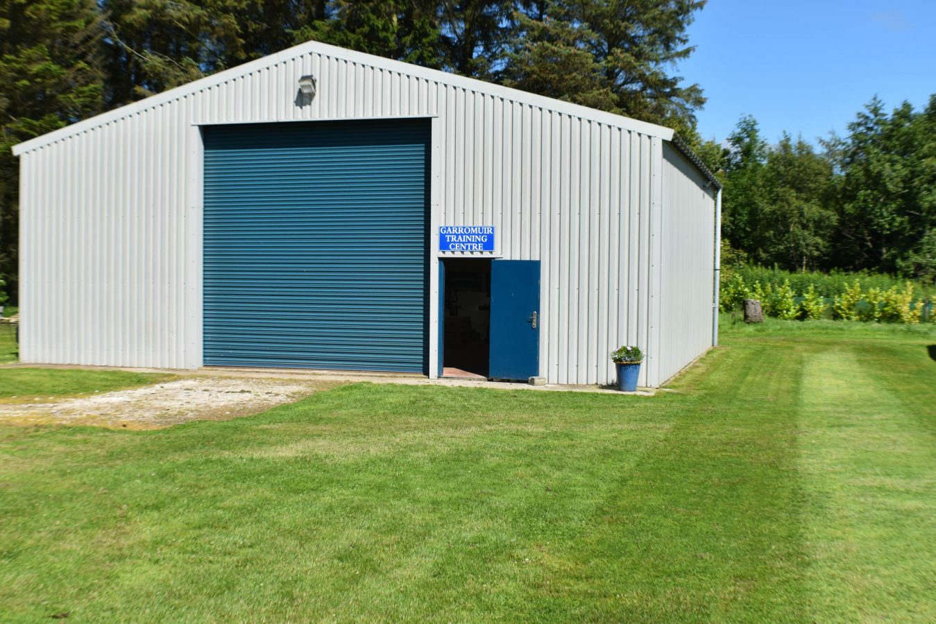 Training Hall Outside - DSC_0605